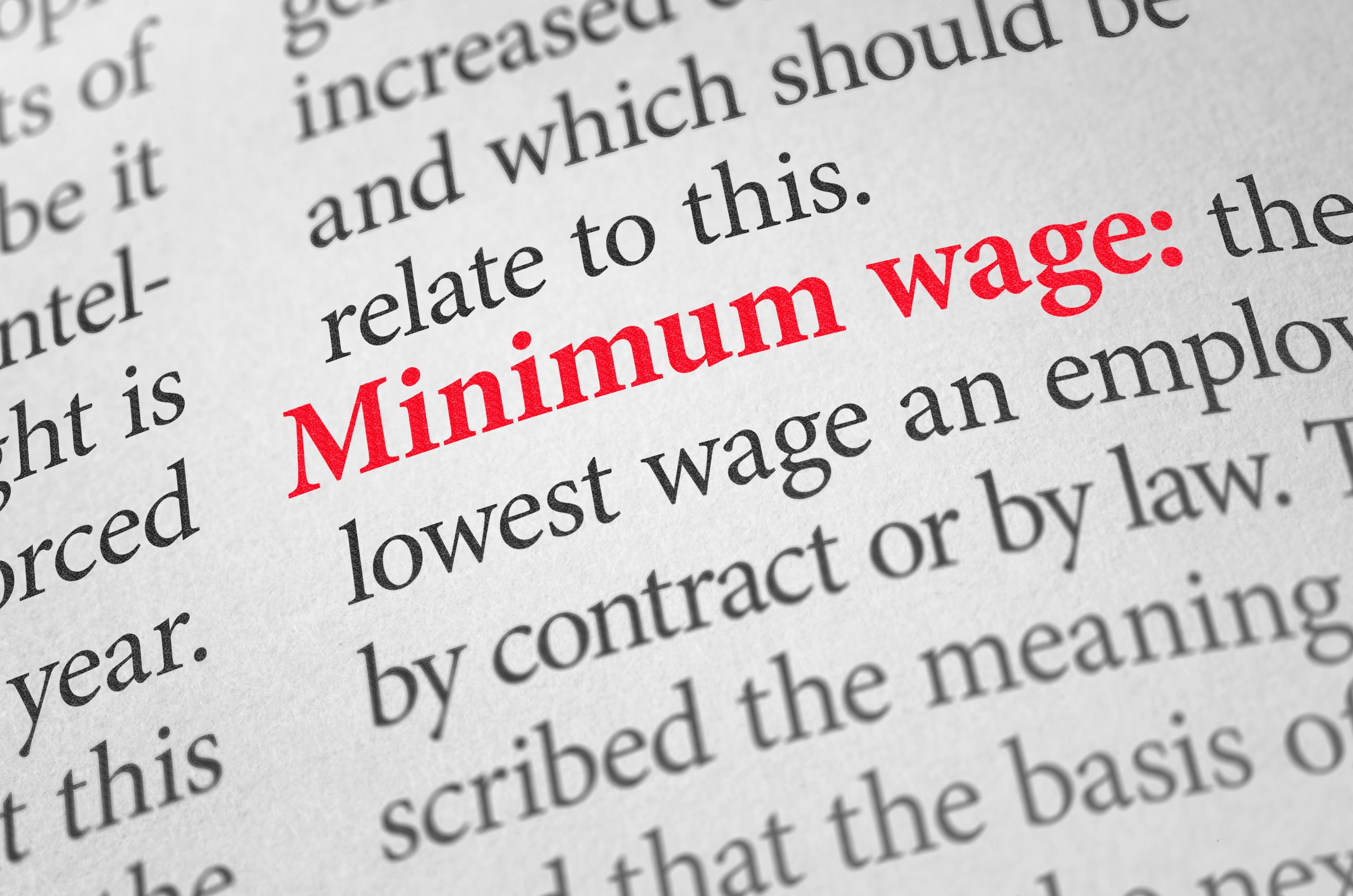 Delfino Madden minimum wage blog