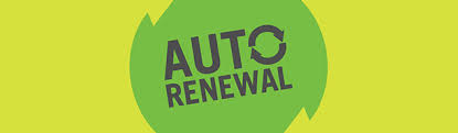 Auto Renewal