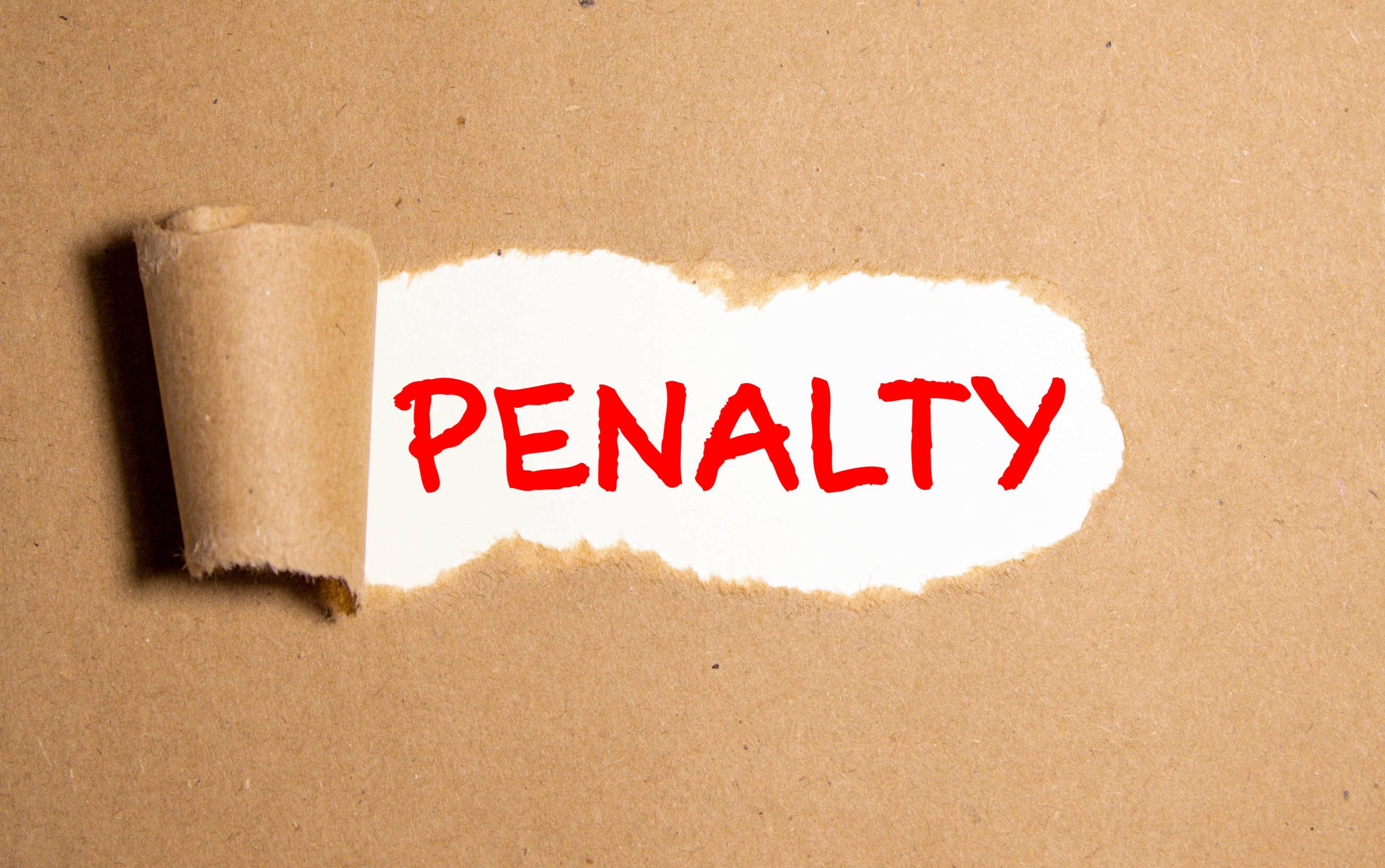Delfino Madden   penalty